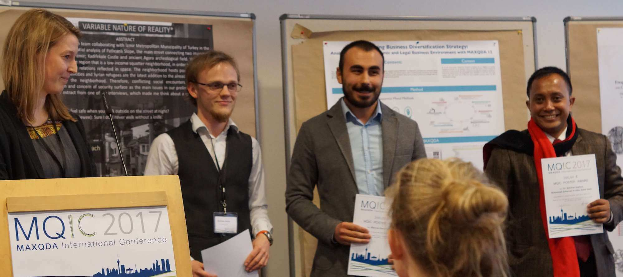 MQIC 2017 - Winners of the Poster Awards